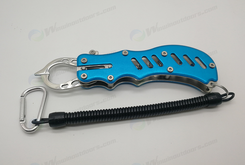 Mini Aluminium Fishing Gripper WTP08051