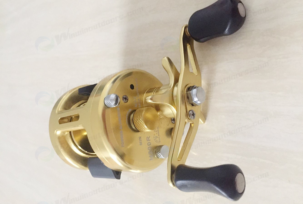 CNC Design Full Metal Trolling  Reels WRT8220