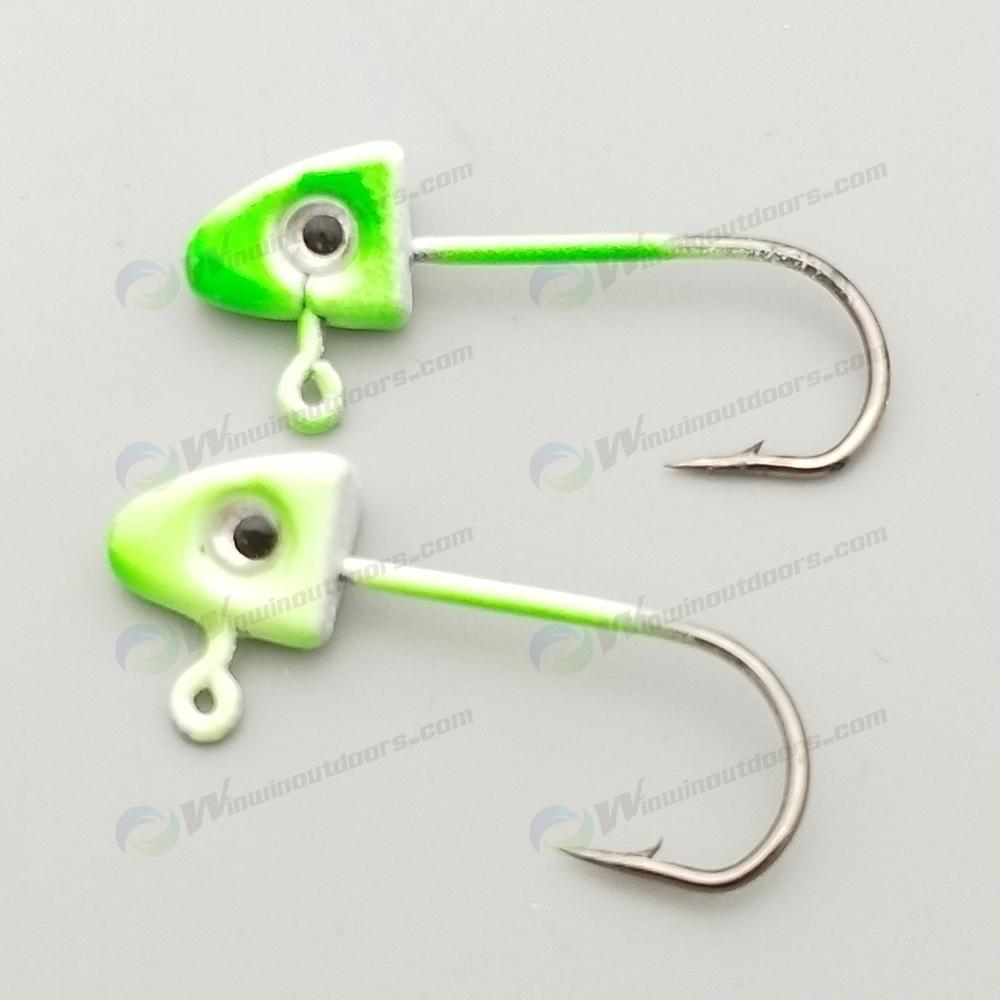 micro lead jig head
