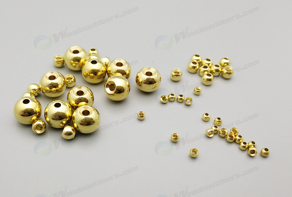 Brass Fishing  Bead